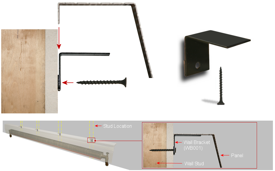 wall bracket installation guide